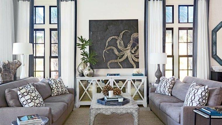 sala de estar-decoracion-cuadro-opciones