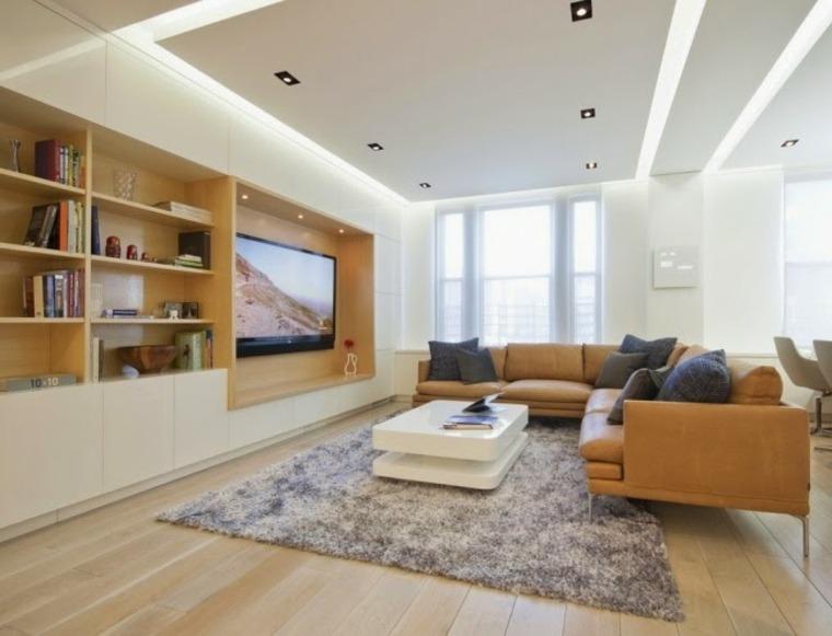 diseños de techos falsos para interiores