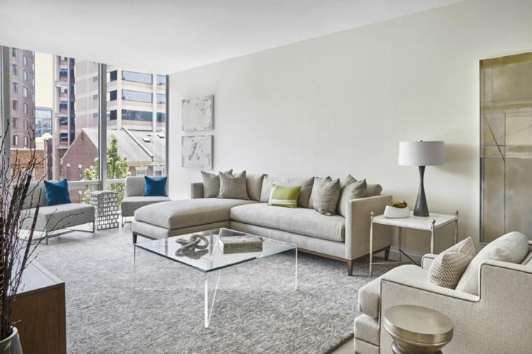salones de diseño belleza-muebles-color-gris-claro