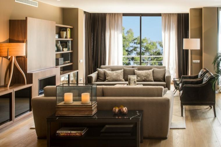 salones de diseño diseno-clasico-muebles-modernos