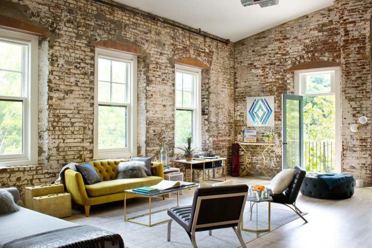 salones de diseño -estilo-vintage-opciones-originales