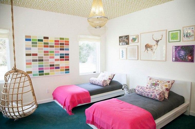 diseño de habitación infantil moderna