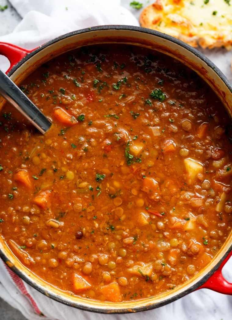 sopa de lentejas-saludable-comer