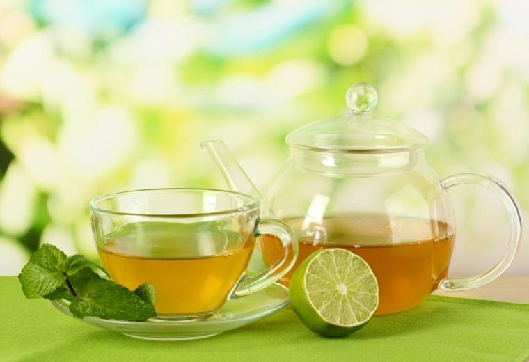 jarra de té