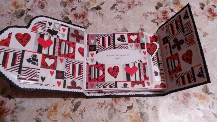 tarjetas de amor a corazones