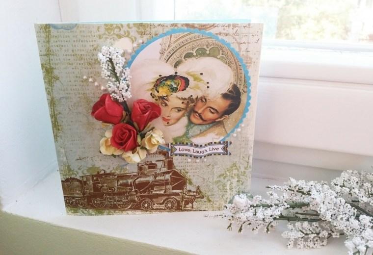 tarjetas de amor vintage