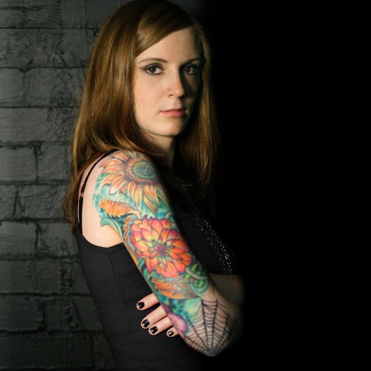 tatuaje-de-manga-flores