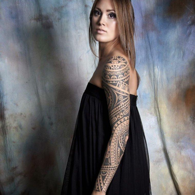 tatuaje-de-mangas-azteca