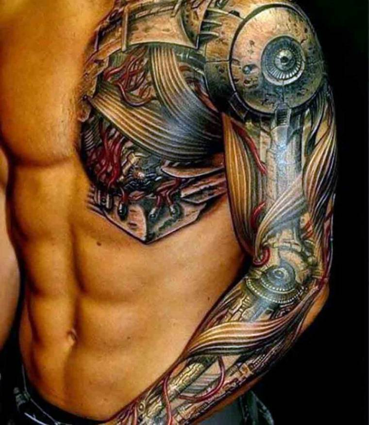 Tatuajes de mangas todo lo que tienes que saber antes de for Tipos de manga japones