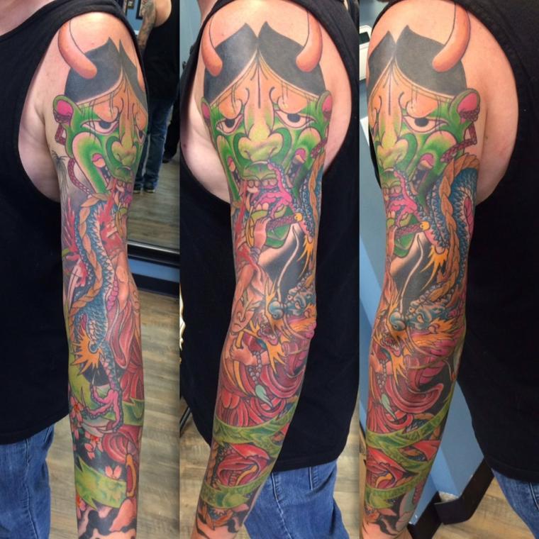 tatuajes de mangas ser-mitico