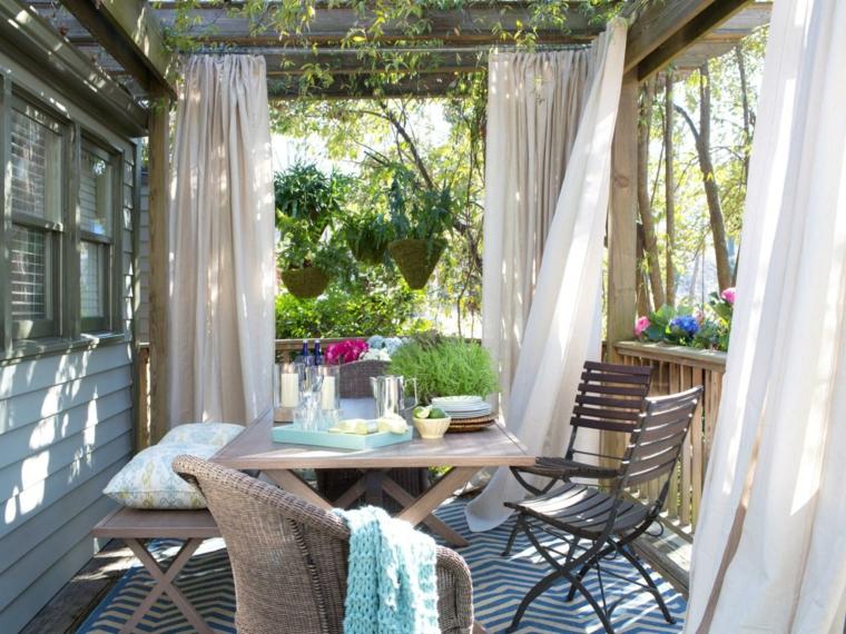 cómo decorar terrazas y balcones con estilo