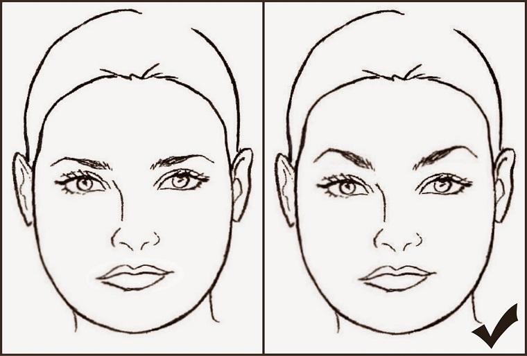 tipos de cejas-estilo-cara-redonda-ideas