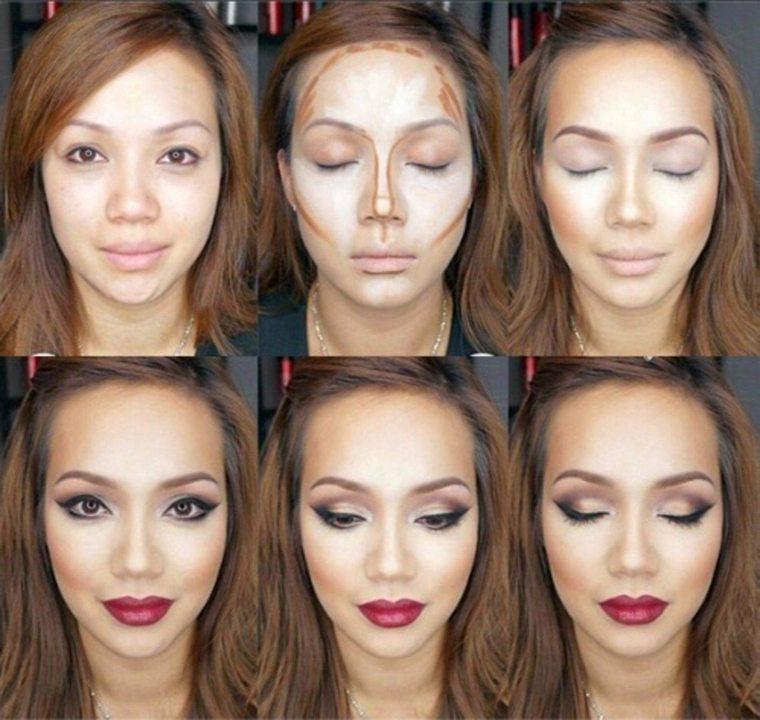 trucos de maquillaje-consejos-contorno-mujer