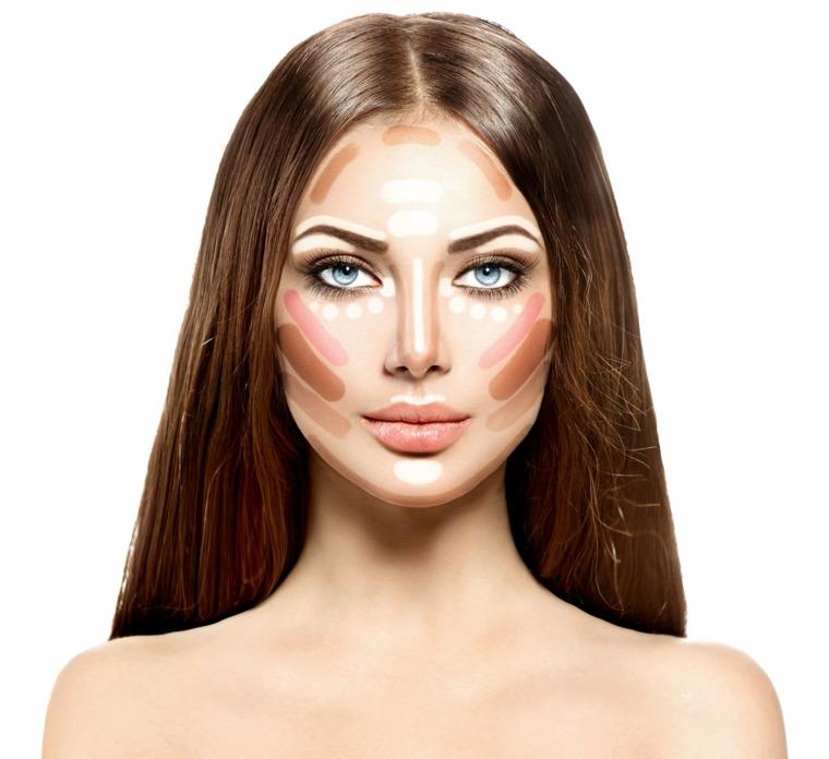 trucos de maquillaje-consejos-contorno-opciones-originales