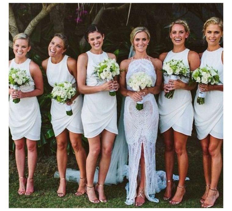 208e8ea12 Vestidos de dama de honor - 100 modelos para elegir el mejor para el ...