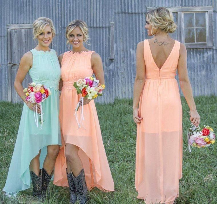 vestidos-damas-colores-crema-bellos