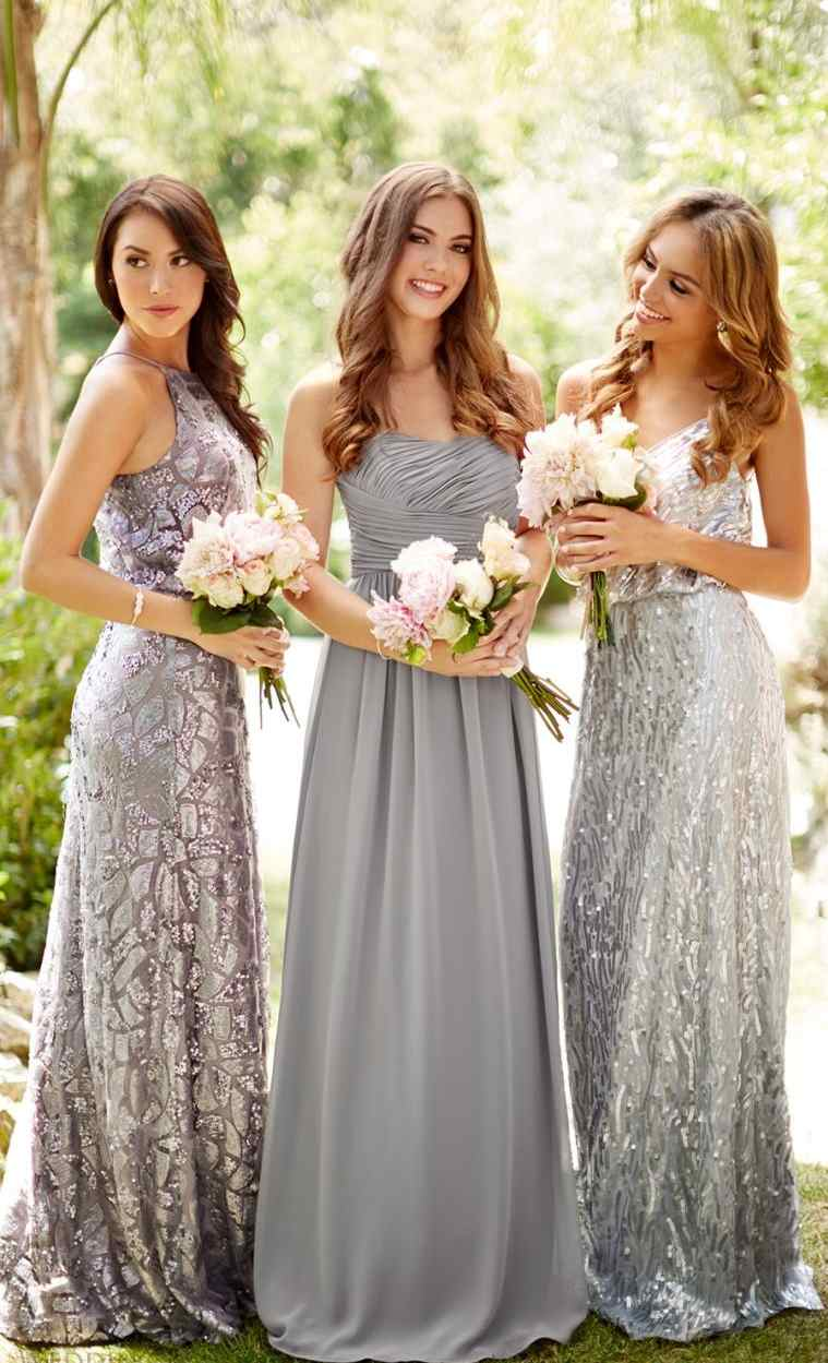 vestidos-de-dama-de-honor-brillo-gris-oscuro