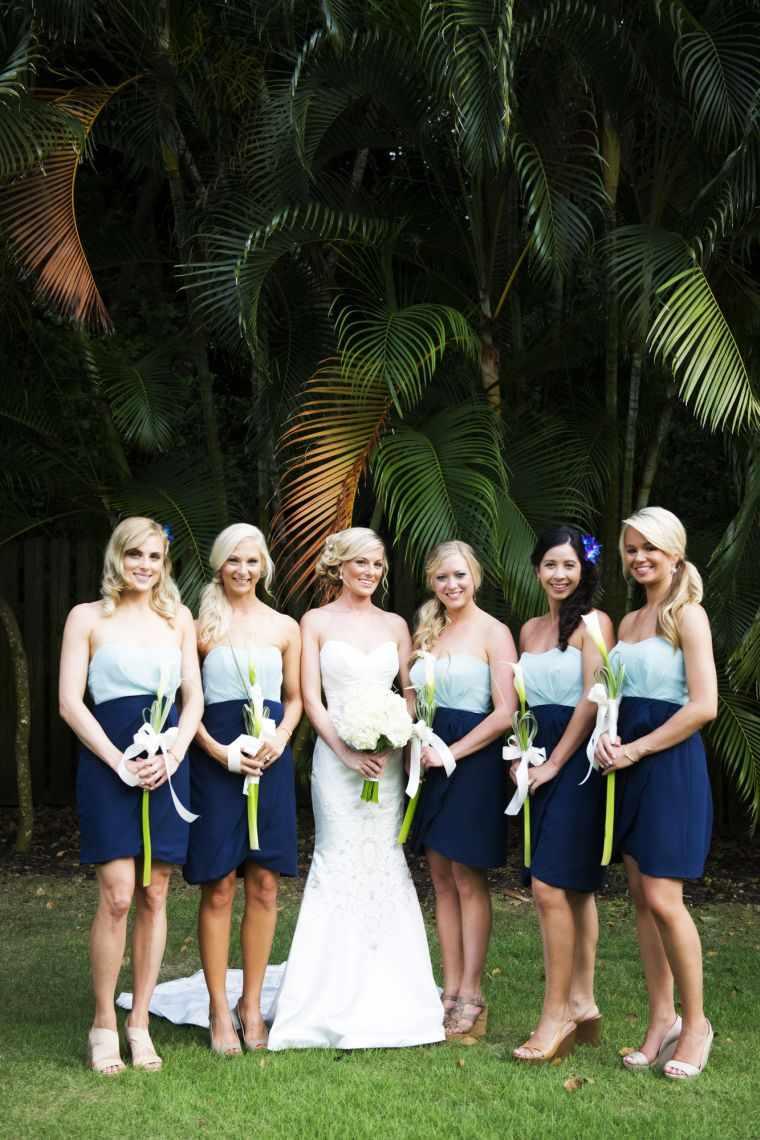 vestidos-de-dama-de-honor-color-azul-dos-tonalidades