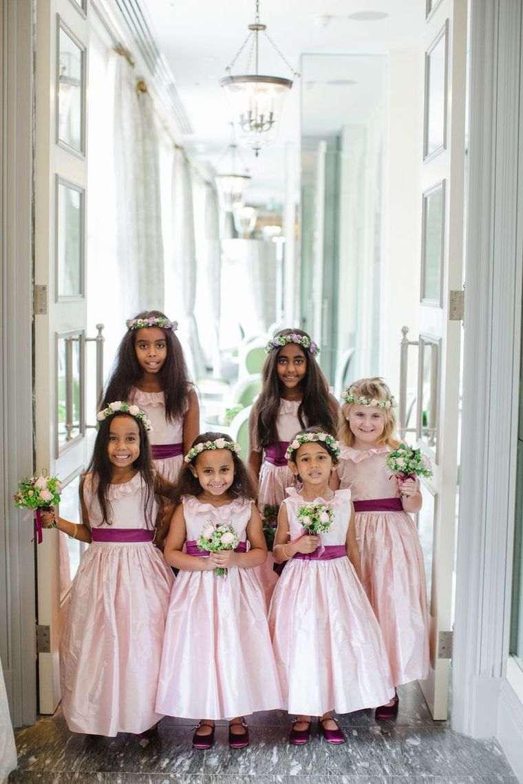 vestidos de dama de honor-modelos-chicas-ninas