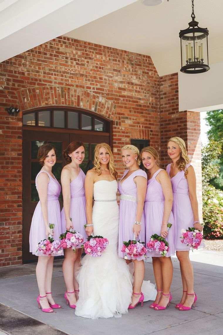 vestidos-de-dama-de-honor-modelos-purpura