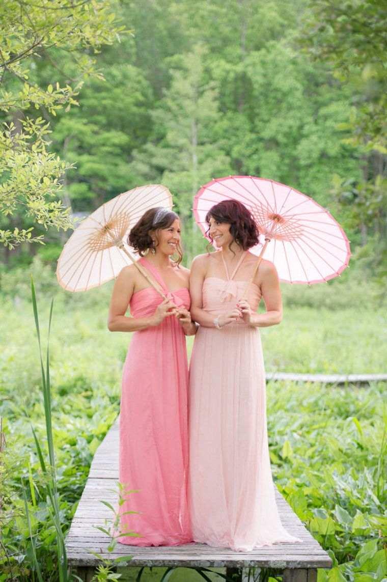 vestidos-de-dama-de-honor-modelos-rosa-tonalidades