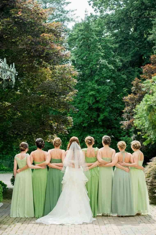 vestidos-de-dama-de-honor-modelos-verde