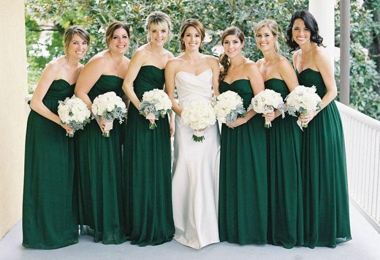 vestidos-de-dama-de-honor-verdes
