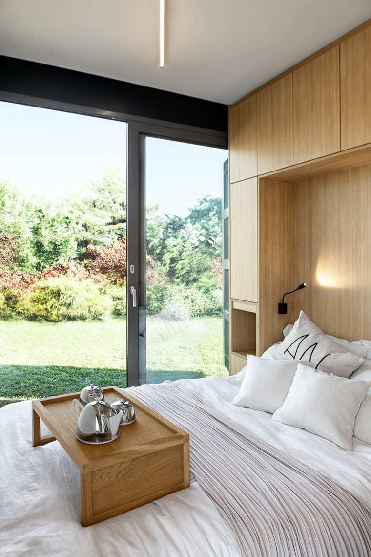 vivienda modular dormitorio