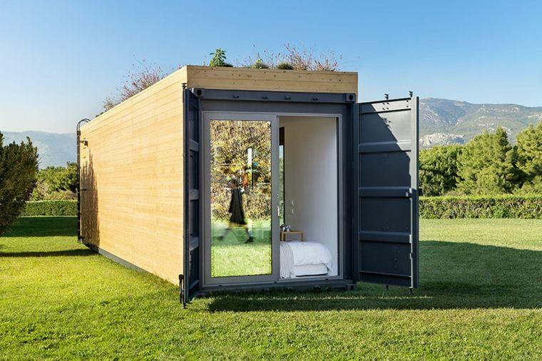 vivienda modular exterior
