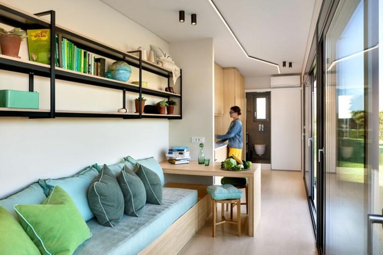 vivienda modular interior