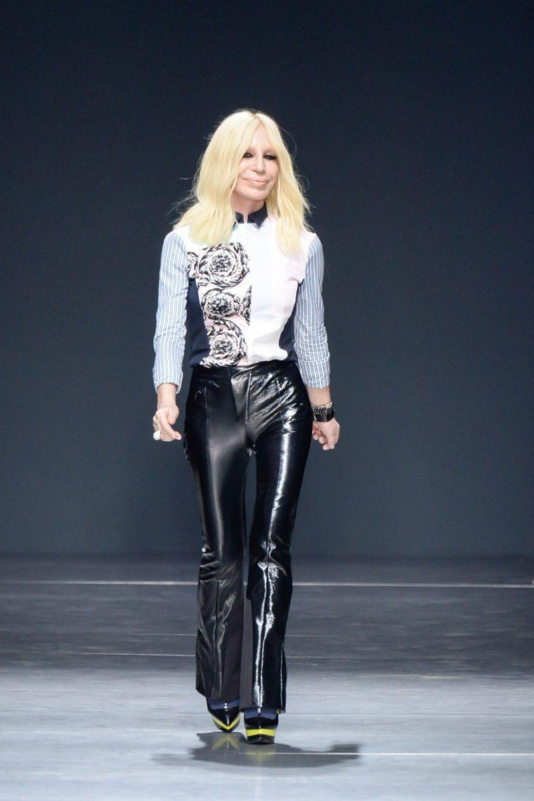 Donatella Versace-fotos-pasarela-icono-moda