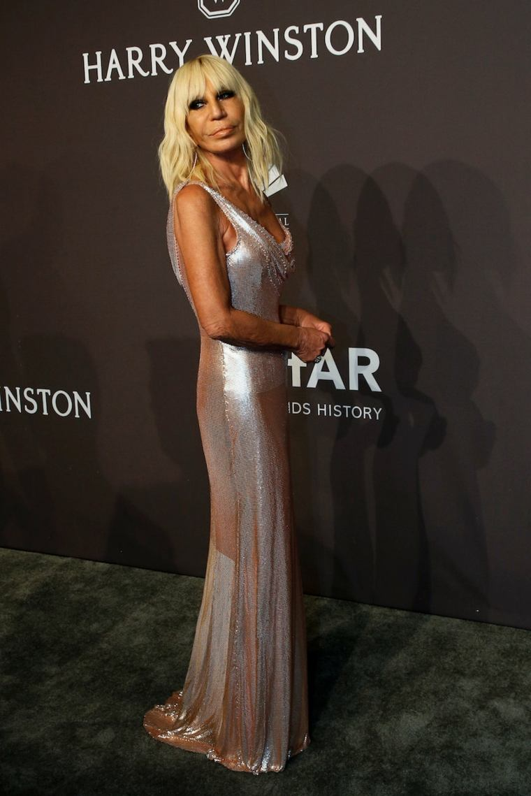 Donatella Versace-fotos-semana-moda-nueva-york