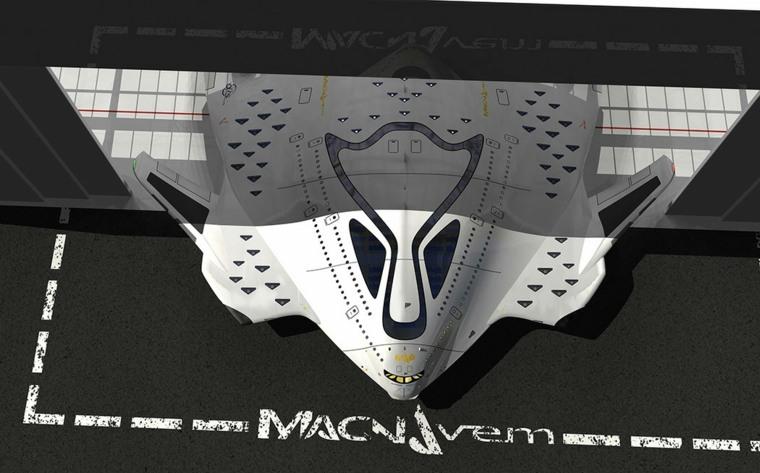 """avión """"Magnavem"""""""