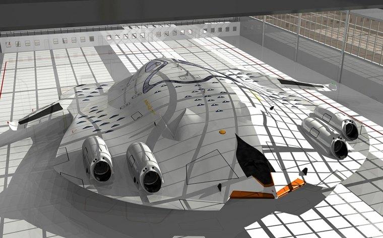 """avión HSP """"Magnavem"""""""