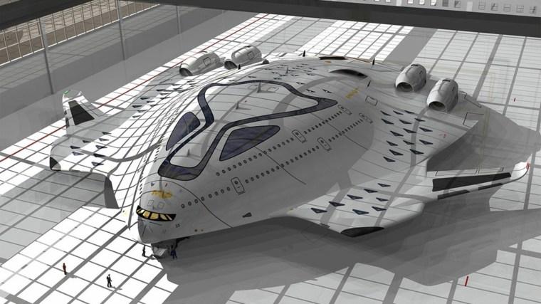 """diseño de avión HSP """"Magnavem"""""""