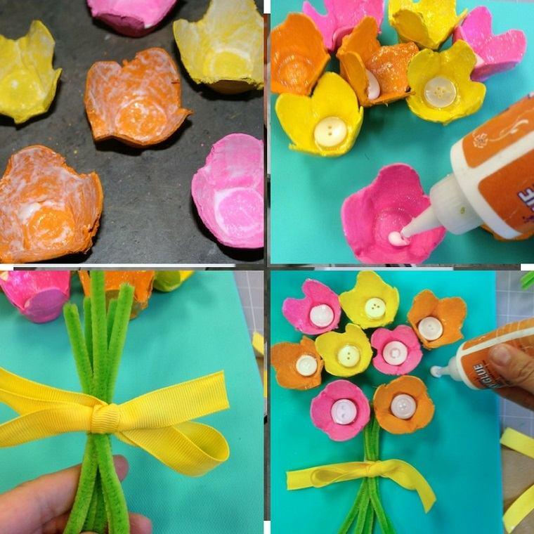 actividades-ninos-opciones-originales-carton-huevos-lienzo