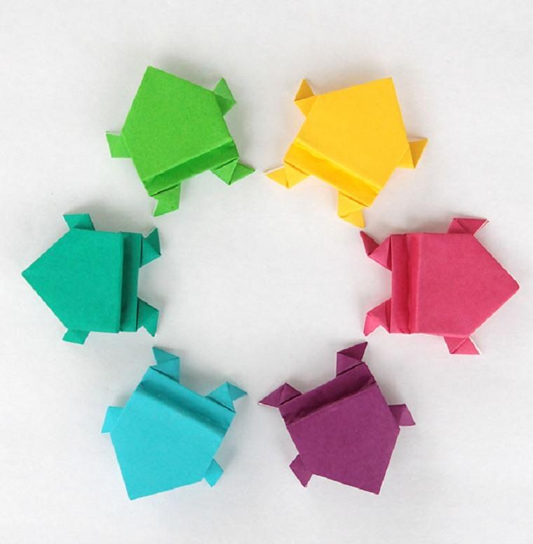 actividades-recreativas-para-ninos-ranas-origami
