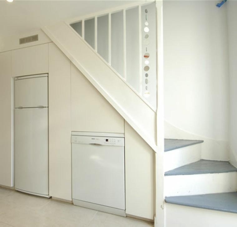 escaleras de diseño moderno para ahorrar espacio