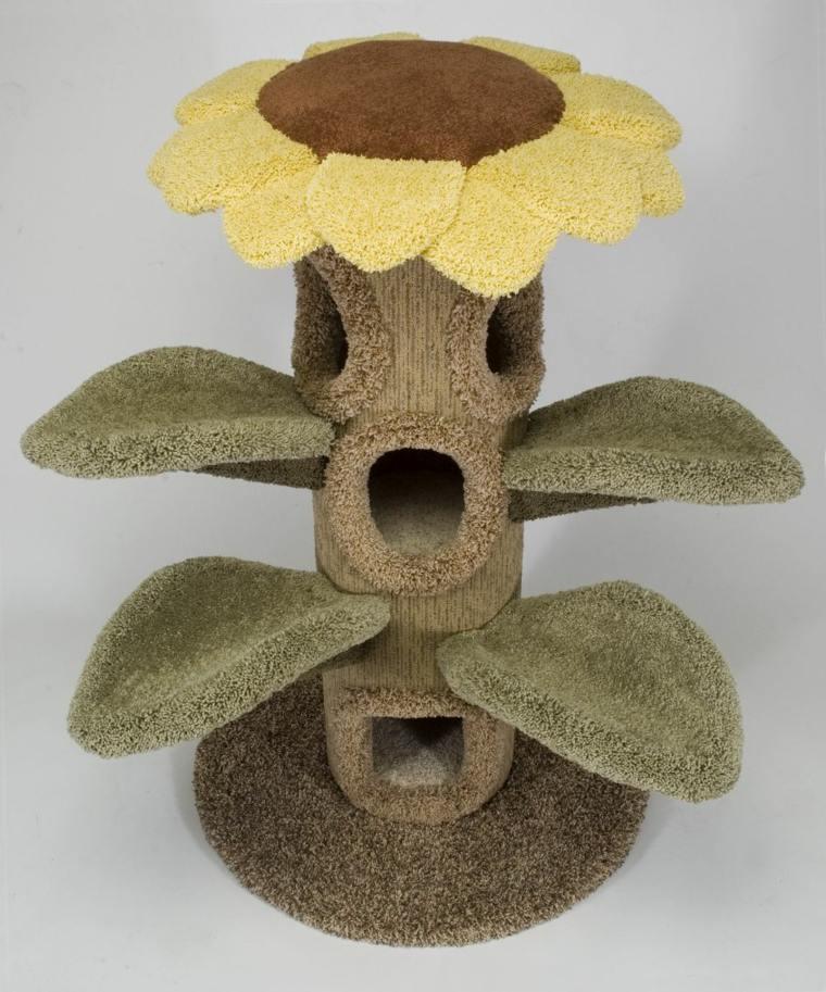 arbol para gatos-casa-flor