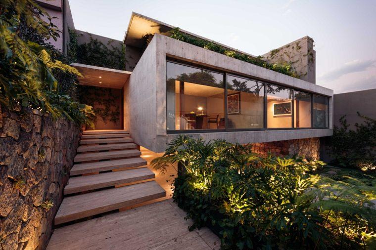 Arquitectura moderna en México - Ramos House, de José Juan Rivera Río -