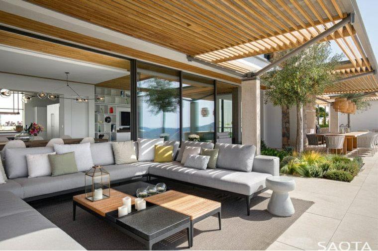 arquitectura moderna diseño ambientacion salones