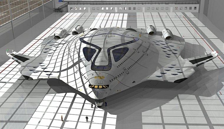 avion supersonico Magnavem