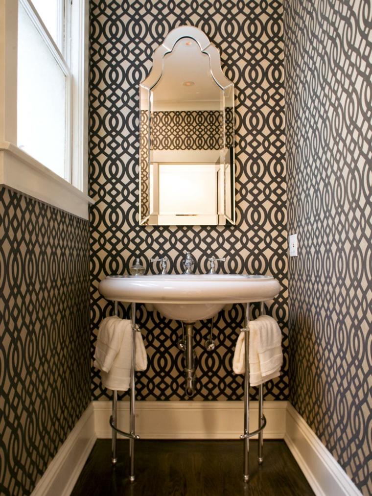 diseño de cuarto de baño pequeño