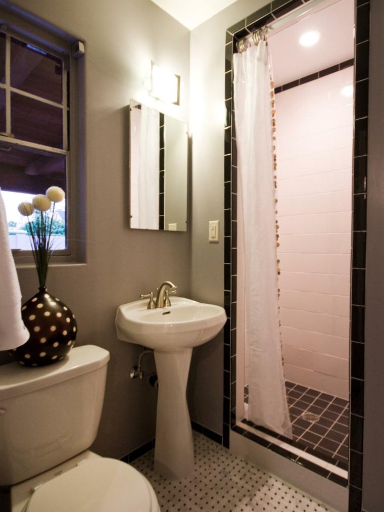 diseño de cuarto de baño sencillo