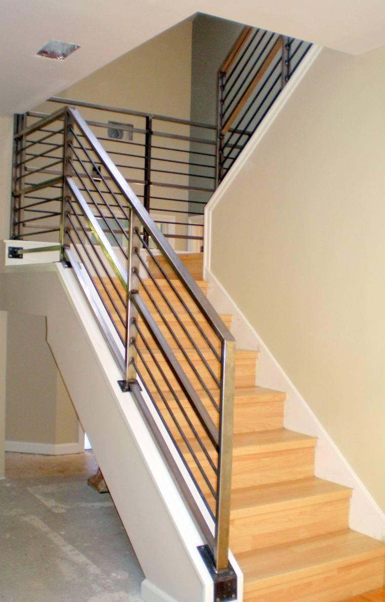 Escaleras Modernas De Interior Como Elegir Las Barandillas Correctas - Barandas-escaleras-modernas