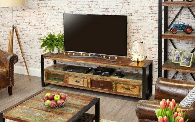 Mueble tv descubre estas ideas inspiradoras para la sala - Decoracion mueble tv ...