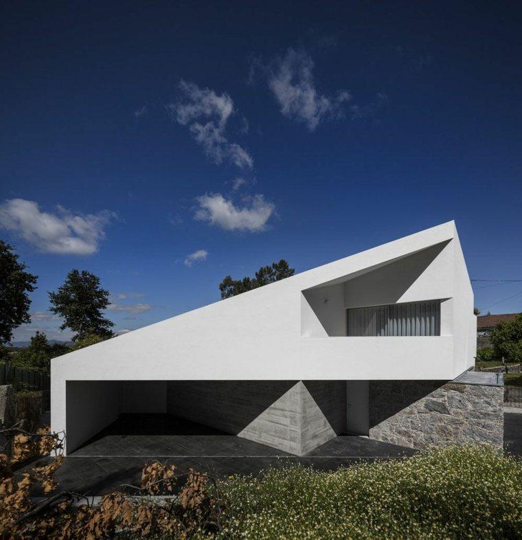 diseño de fachada futurista
