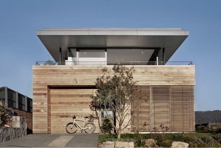 casas bonitas diseño basado madera