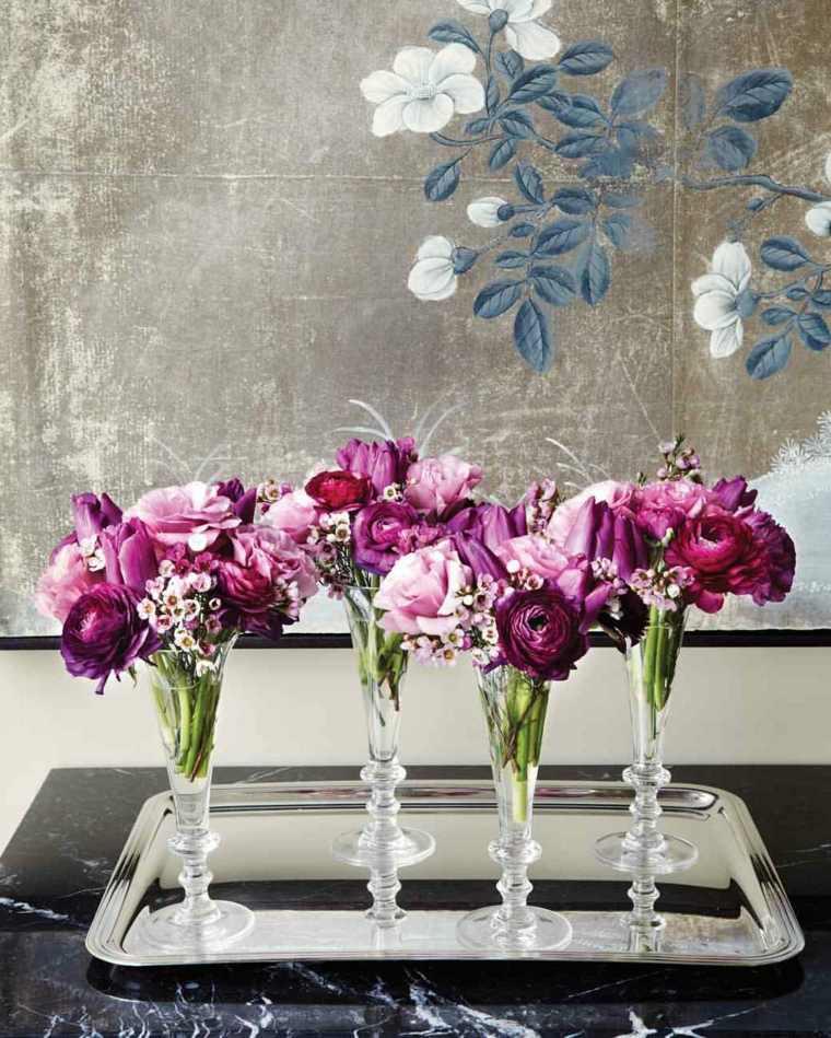 centros-mesa-opciones-originales-arreglo-floral-copas-champan