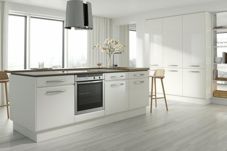 cocina-blanca-diseno-contemporaneo-estilo-moderno